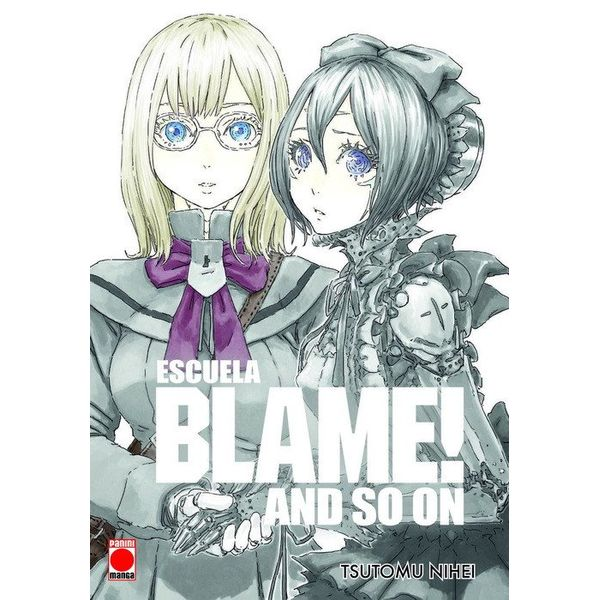 Escuela Blame! and so on Manga Oficial Panini Manga