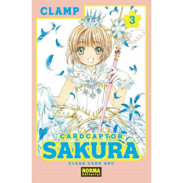 Card Captor Sakura Clear Card Arc #03 Manga Oficial Norma Editorial