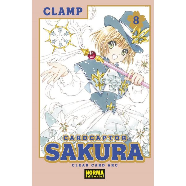 Card Captor Sakura Clear Card Arc #08 Manga Oficial Norma Editorial