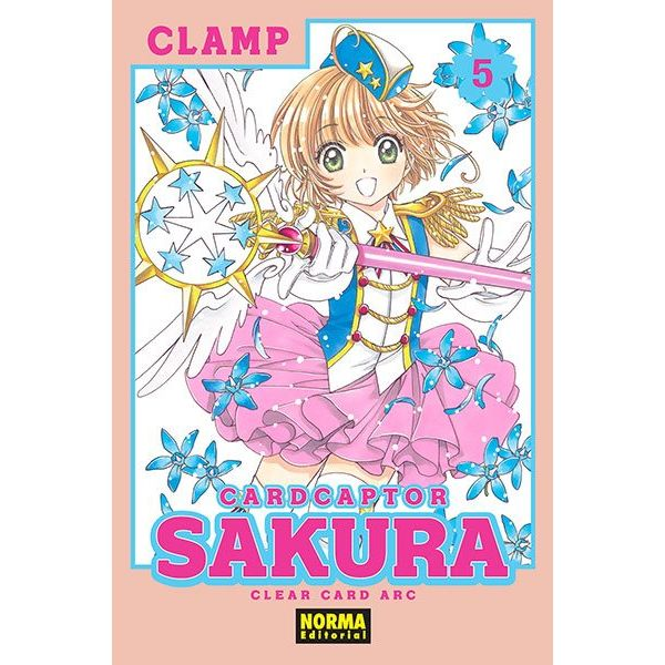 Card Captor Sakura Clear Card Arc #05 Manga Oficial Norma Editorial
