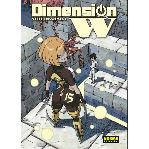Dimension W #15 Manga Oficial Norma Editorial