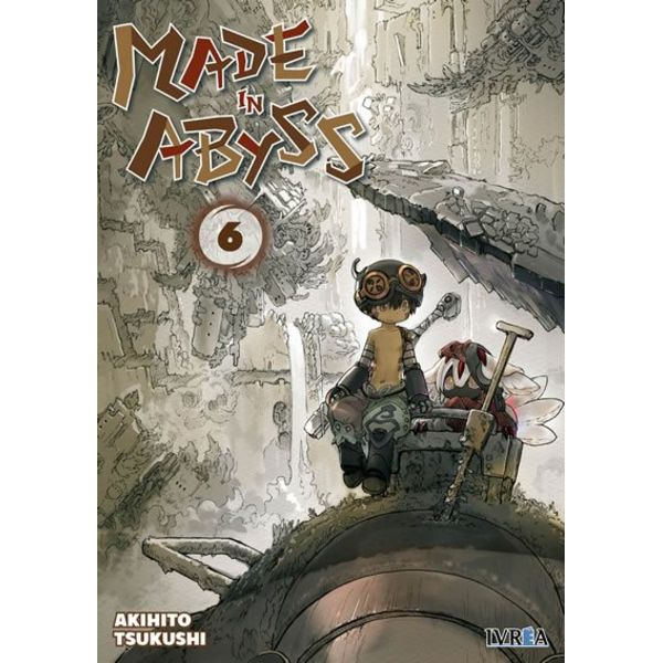 Made in Abyss #06 Manga Oficial Ivrea