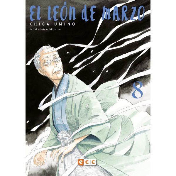 El León de Marzo #08 (Spanish) Manga Oficial ECC Ediciones