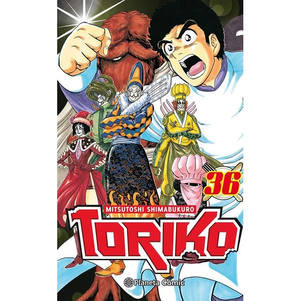 Toriko #36 Manga Oficial Planeta Comic (Spanish)