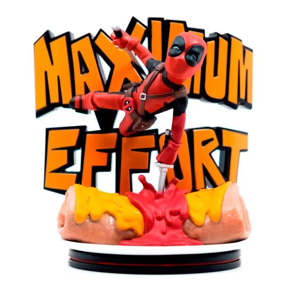 Deadpool Maximum Effort Q-Fig Marvel Diorama Q-Fig Max