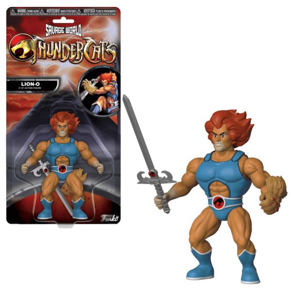 Lion-O Figure Thundercats Savage World