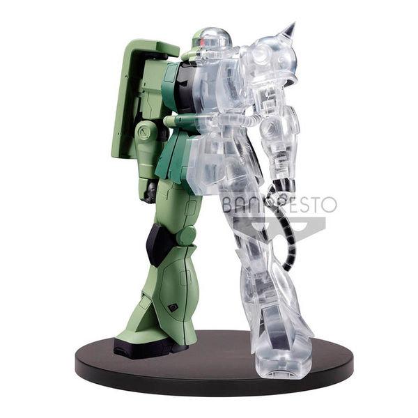 Figura MS-06F Zaku 2 Internal Estructure Mobile Suit Gundam