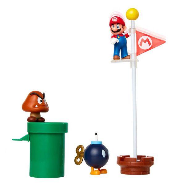 Acorn Plains Figure World of Nintendo Super Mario