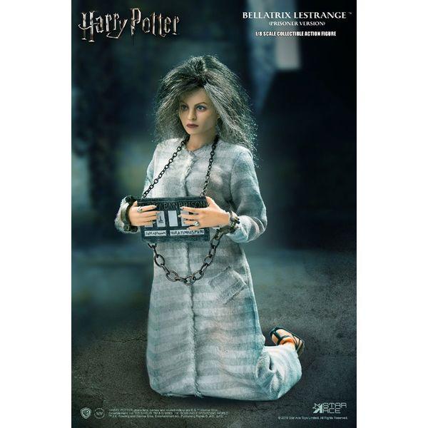 Figura Bellatrix Lestrange Prisoner Version Harry Potter Real Master Series