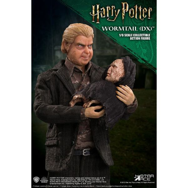 Wormtail Peter Pettigrew Deluxe Figure Harry Potter My Favourite Movie