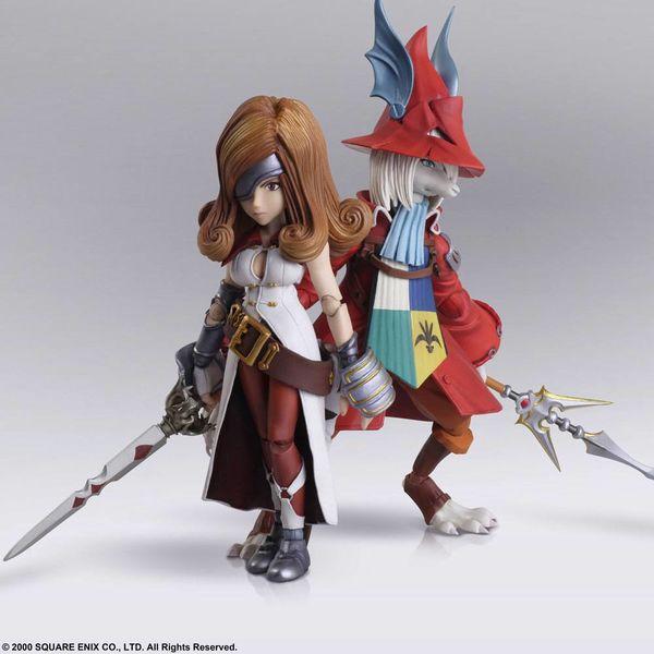 Freya Crescent & Beatrix Figure Final Fantasy IX Bring Arts