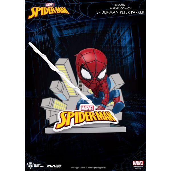 Spider Man Peter Parker Figure Marvel Comics Mini Egg Attack