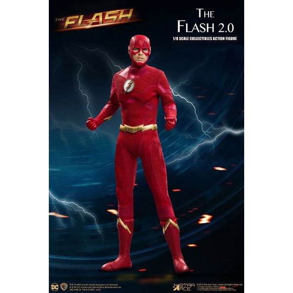 Figura The Flash 2.0 Normal Version The Flash Real Master Series