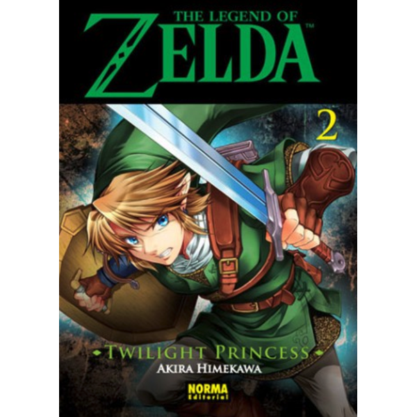 The Legend of Zelda  Twilight Princess #02 Manga Oficial Norma Editorial