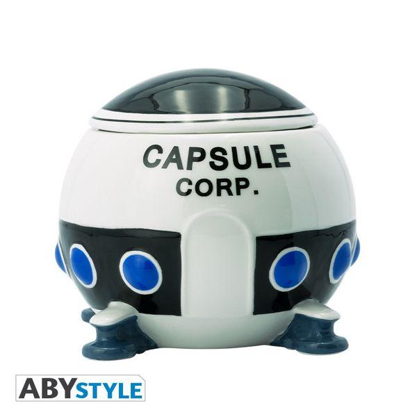 Taza 3D Capsule Corp Spaceship Dragon Ball Z