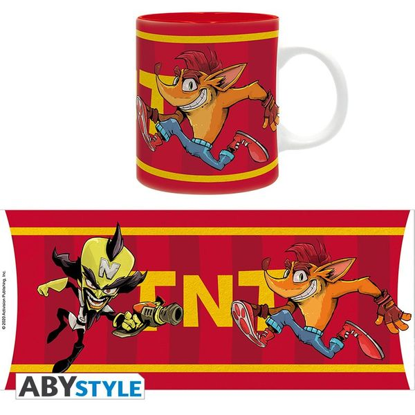 Taza Crash TNT Crash Bandicoot