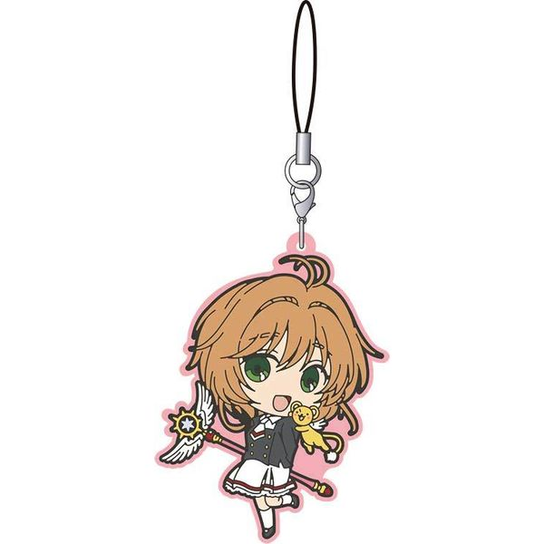 Keychain Sakura uniform Card Captor Sakura Clear Card