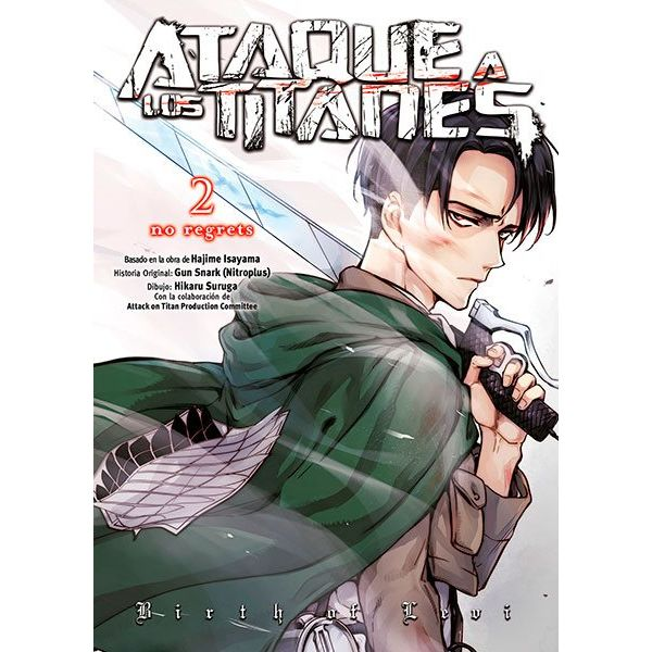 Ataque A Los Titanes No Regrets #02 (Edición en Color) (spanish) Manga Oficial Norma Editorial
