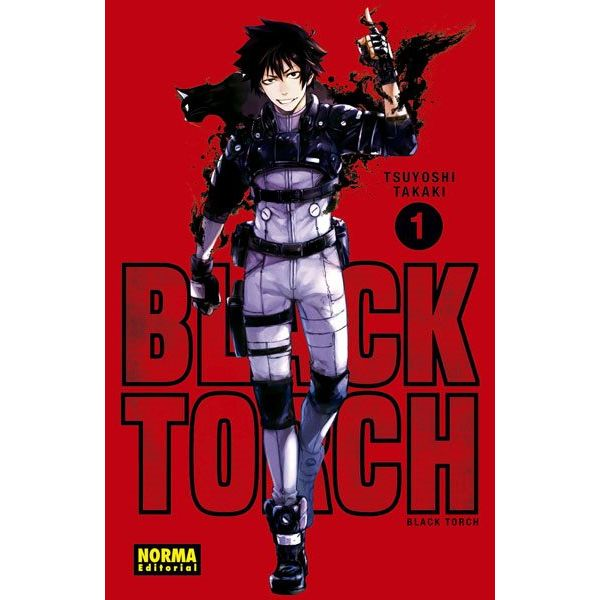 Black Torch #01 Manga Oficial Norma Editorial