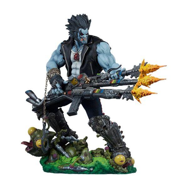 Estatua Lobo DC Comics Maquette