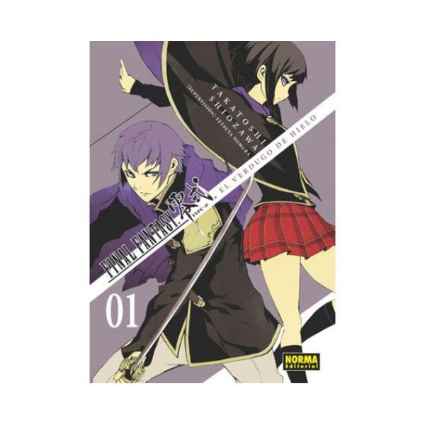 Final Fantasy Type 0 - El Verdugo de Hielo #01 Manga Oficial Norma Editorial
