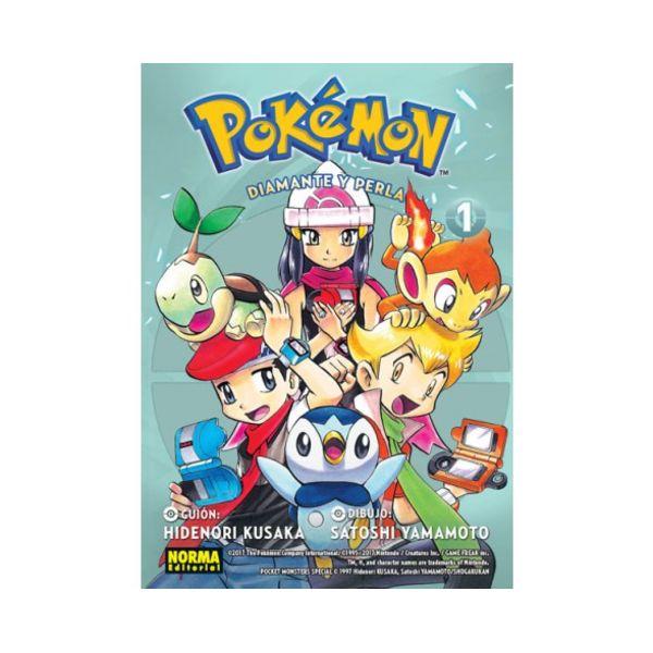Pokemon Diamante y Perla #01 Manga Oficial Norma Editorial