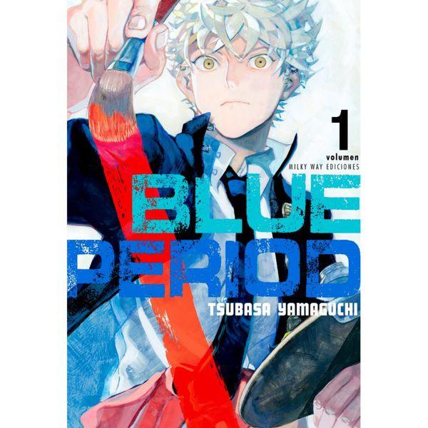 Blue Period #01 Manga Oficial Milky Way Ediciones