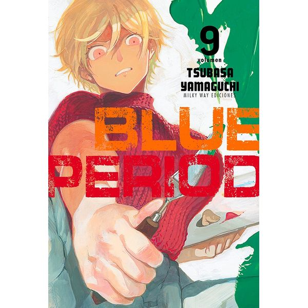 Blue Period #09 Manga Oficial Milky Way Ediciones