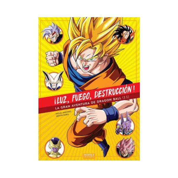 Luz, fuego, destrucción - La gran aventura de Dragon Ball #02 Diabolo ediciones
