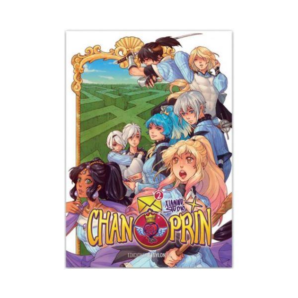 Chan Prin #02  Manga Oficial Ediciones Babylon