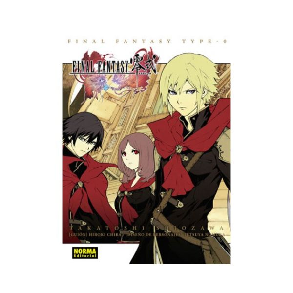 Final Fantasy Type 0 Manga Oficial Norma Editorial