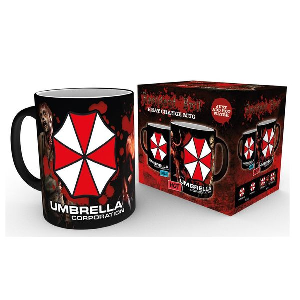 Taza Térmica Umbrella Corporation Resident Evil