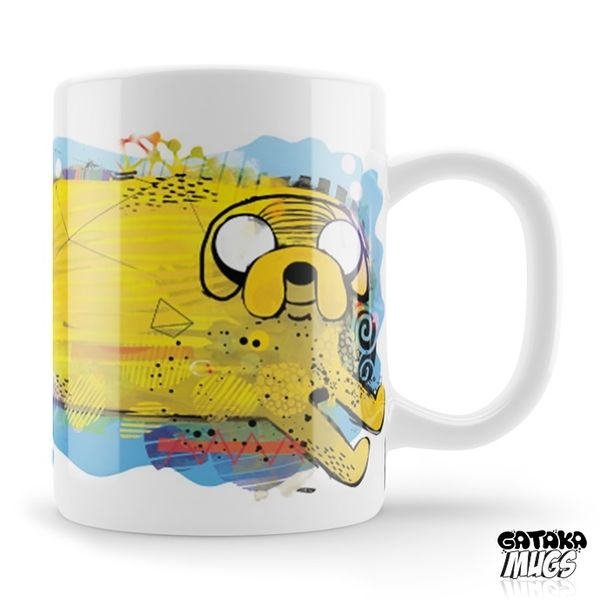 Neko Jake Mug Adventure Time