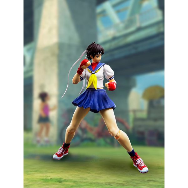 S.H. Figuarts Sakura Kasugano Street Fighter
