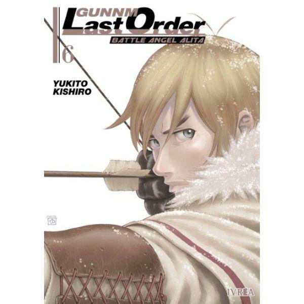 Gunnm Last Order Battle Angel Alita #06 Manga Oficial Ivrea