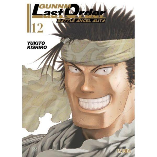 Gunnm Last Order Battle Angel Alita #12 Manga Oficial Ivrea