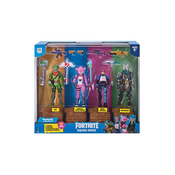 Figuras Squad Mode 4-Pack Fortnite