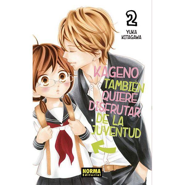 Kageno También Quiere Disfrutar De La Juventud #02 Manga Oficial Norma Editorial
