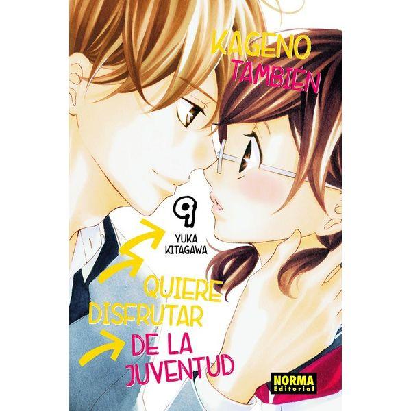 Kageno También Quiere Disfrutar De La Juventud #09 Manga Oficial Norma Editorial