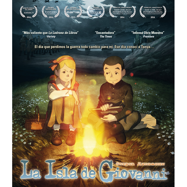 Collector's Edition La Isla De Giovanni Bluray