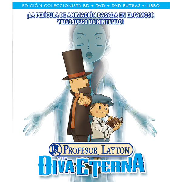 Collector's Edition Profesor Layton Y La Diva Eterna Bluray
