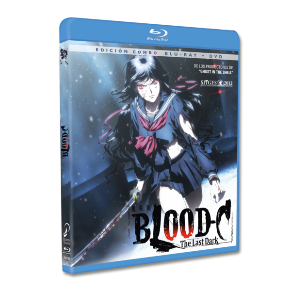 Blood C: The Last Dark Edición Combo Bluray