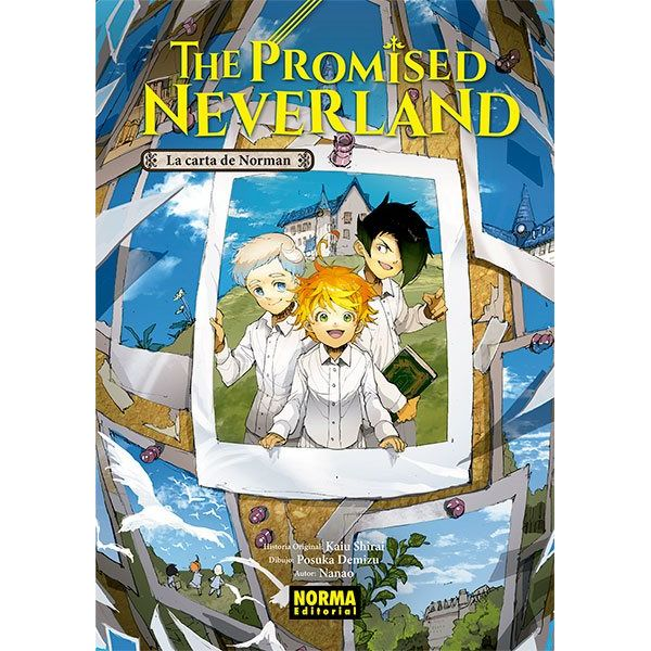 The Promised Neverland: La Carta De Norman (novel) (spanish)