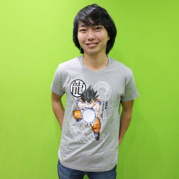 Son Goku Kamehameha T-shirt Dragon Ball Z