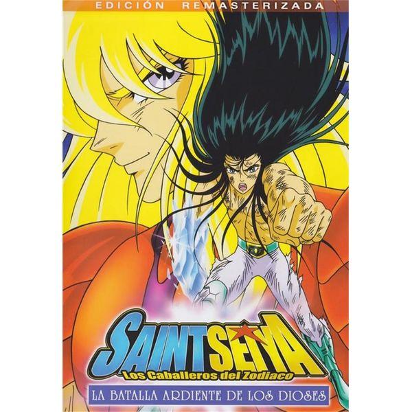 Saint Seiya: La Batalla Ardiente De Los Dioses DVD