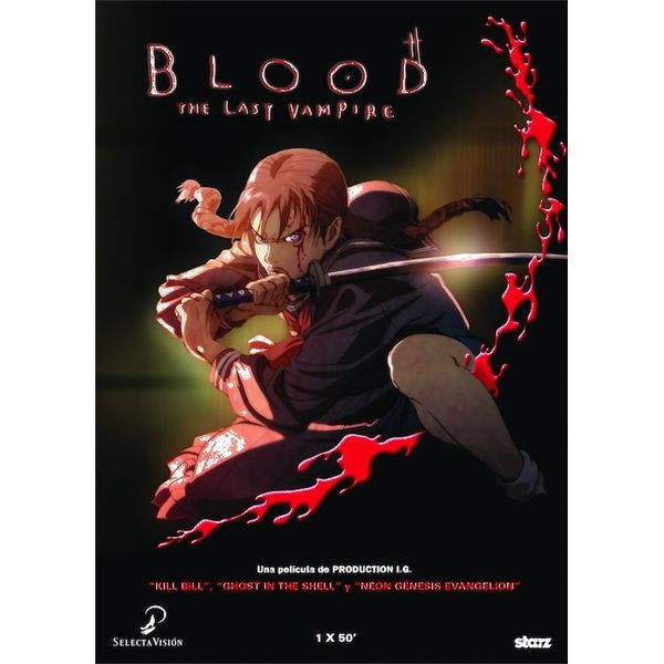 Blood: El Último Vampiro DVD