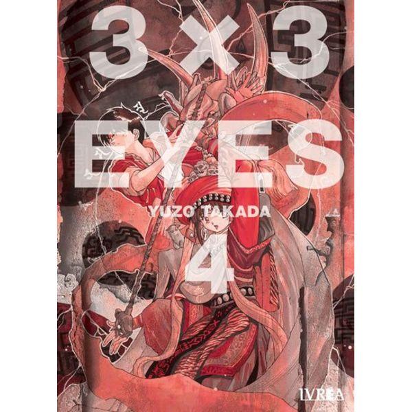 3 X 3 Eyes #04 Manga Oficial Ivrea