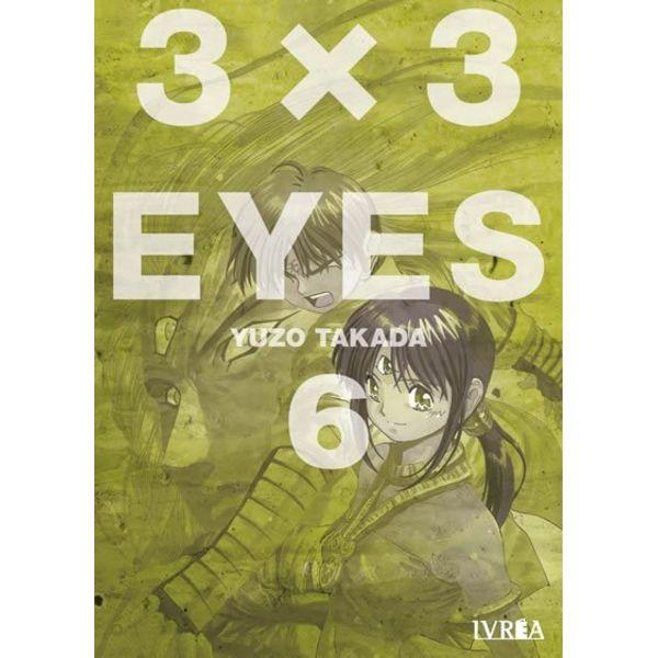 3 X 3 Eyes #06 Manga Oficial Ivrea