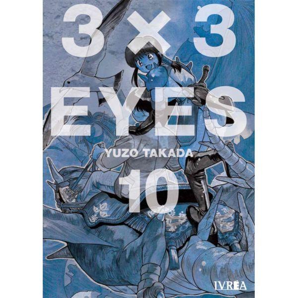 3 X 3 Eyes #10 Manga Oficial Ivrea
