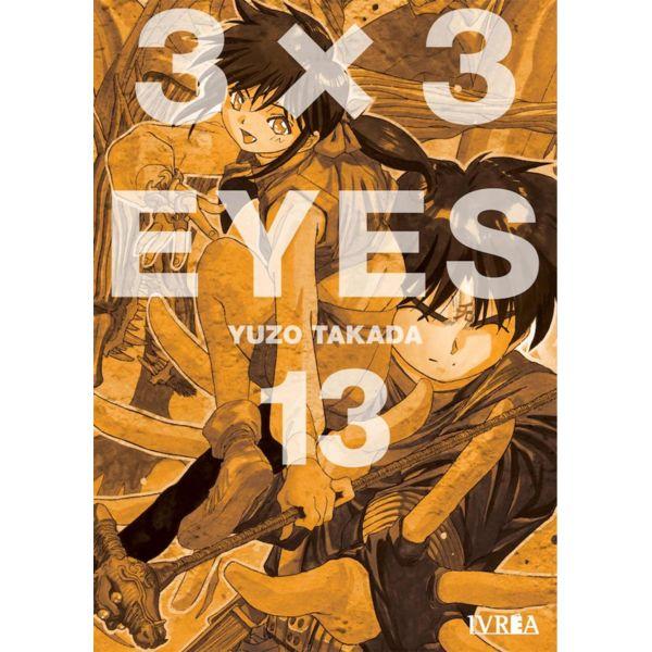 3 X 3 Eyes #13 Manga Oficial Ivrea